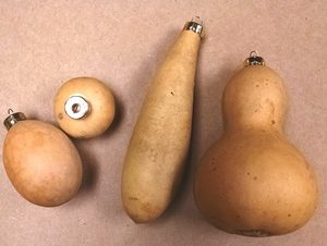Gourd Ornament-4 pack